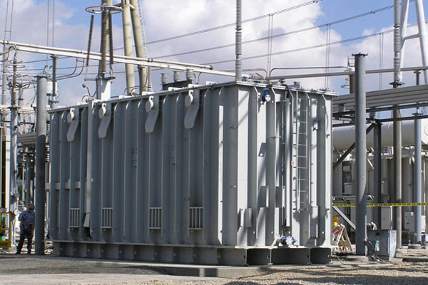 Exported to USA, 533MVA/500kV transformer with largest single-phase capacity in the world on 2005